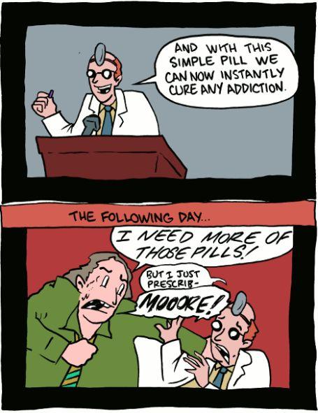 pilulas cartoon