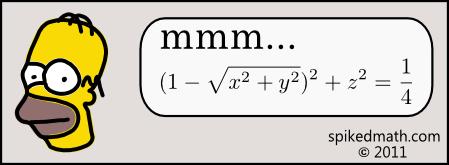 é só saber matemática
