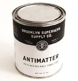 lata de antimatéria