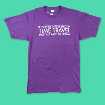 camiseta viagem tempo