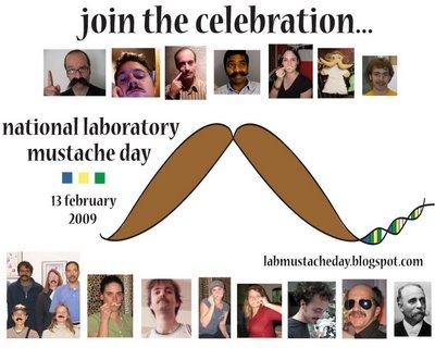 dia bigode cientistas laboratprio