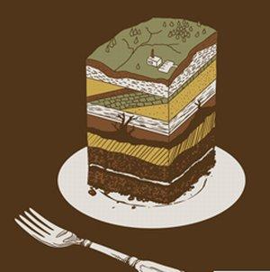 geologo bolo terra nerd