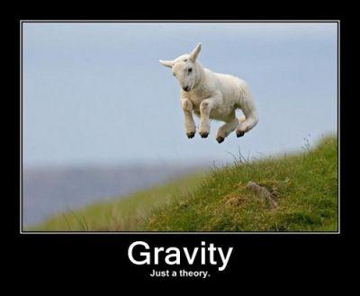 gravidade somente teoria