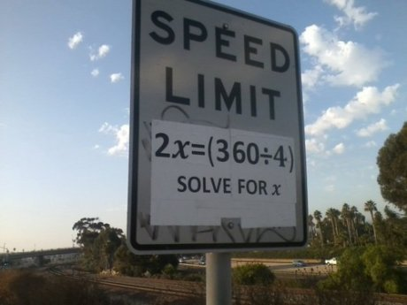 placa limite velocidade