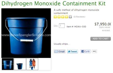monóxido de dihidrogênio é H2O