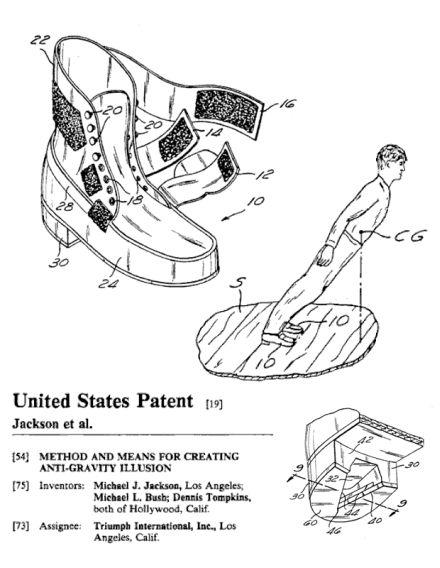 patente invento jackson botas