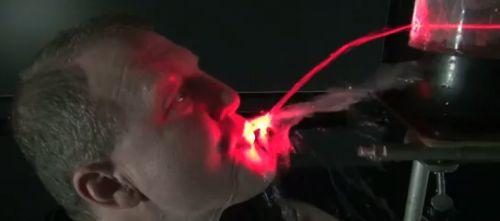 brincando com laser