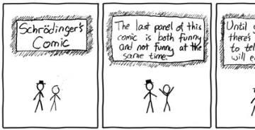 schrodinger comic