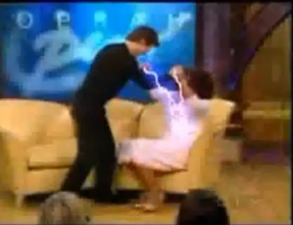 ataque com poderes paranormais
